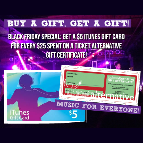 Free $5 itunes gift card with purchase