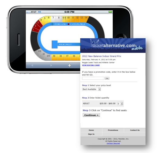Ticket Alternative Mobile Ticketing Solution